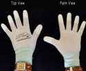 Breathable — no more sweaty hands. Hands remain cool, even in the hot sun. Polyurethane coated fingertips protect skin from solvents & chemicals. Super-comfortable, form-fitting stretchable nylon knit gloves can be washed in the washing machine. Excellent tactile sensitivity. Some UV protection for outdoor, plein air painting.
