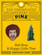 Bob Ross and Tree Pin
