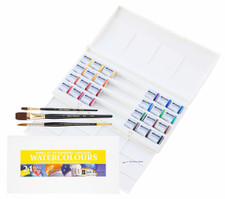 John Hulsey Plein Air Watercolor Set by Richeson