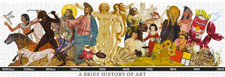 A Brief History of Art 1000 Piece Puzzle
