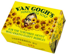 Van Gogh's Sunflower Soap (2 oz.)
