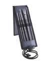 Richeson Watermedia Brushes in Easel Style Travel Kit.