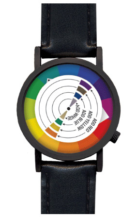 The Color Wheel Watch