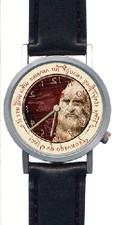 Leonardo da Vince Backwards Watch