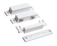 7939-2WH surface mount door and window contact designed for all Form C SBDT (normally open)