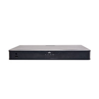 UNIVIEW 1U chassis, 16 channels, Up to 4K realtime live view/recording, 16 built-in POE ports