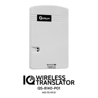 IQ Translator HT  - Translates 345 MHz sensors to Qolsys wireless (319.5 MHz)