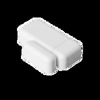 IQ Mini DW (Brown) - Low-profile door/window sensor.