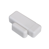 IQ Door Window S-Line (White) - Encrypted.  Superior range/performance door-window sensor.  Rare-earth magnet for wide gap.  Slim profile.
