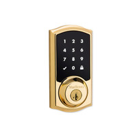 SmartCode 916 Polished Brass
