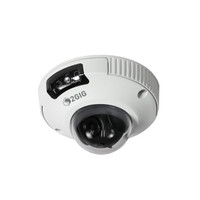 2GIG Outdoor Mini-Dome Camera, 2MP, Ethernet, PoE, White