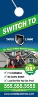 SWITCH TO - Door Hanger