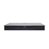 UNIVIEW 1U chassis, 16 channels, Up to 4K realtime live view/recording, 8 built-in POE ports