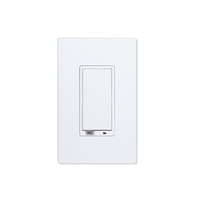 500 Series Z-Wave White Wall Dimmer Switch