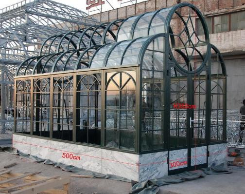Cast Iron Conservatory Iron Greenhouse Contemporary Style