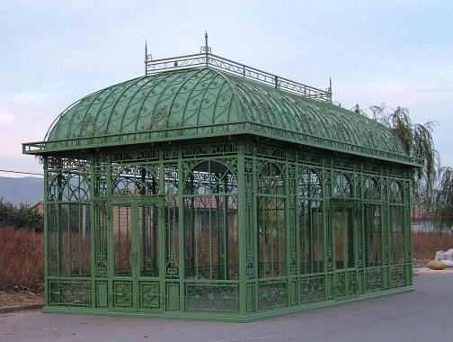 Image result for victorian green house iron