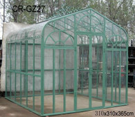 "GREAT AFFORDABLE GARDEN GREEN HOUSE IN MODULAR CONSTRUCTION, 143"" TALL"