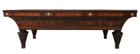 Antique French Billiard Table Charles X Design from Paris, 19th Century