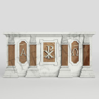 Custom designed Marble Church Altar, Religious