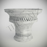 Custom Designed Marble Church Baptismal Font , Religious