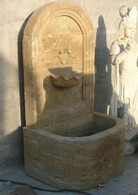 "TUSCAN STYLE MARBLE GARDEN WALL FOUNTAIN 47.5"" TALL"