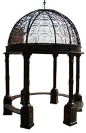 Victorian Style Cast Iron Garden Gazebo IN STOCK READY TO SHIP