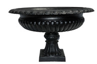 Large Cast Iron Garden Urn/Planter