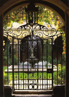 English Victorian Cast Iron Hand Made Gate, Wine Cellar Design