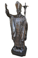Pope John Paul II Bronze Statue, Great Church Religious Statue