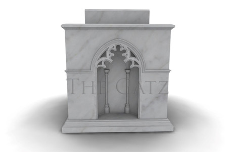 Marble Church Ambo Podium Gothic Style