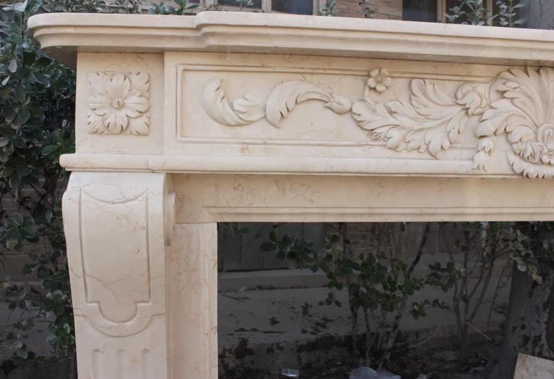 Fireplaces carved stone creations