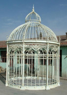 Cast & Wrought Iron Victorian Style Gazebo or Massive Bird House  21.5 Feet Tall