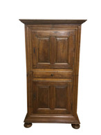 Antique French Country Cabinet, Rustic & Primitive, Walnut,  Late 18th Century to early 19th Century