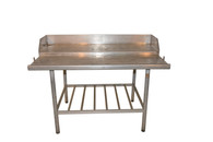 Aluminum Outdoor Work Island, Fish Cleaning, Potting Table, Etc.