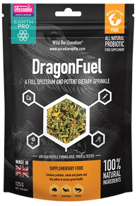 Arcadia Dragon Fuel -- Bearded Dragon Supplement 125g