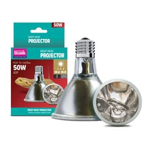 Arcadia DEEP Heat Projector 50w (= to 75- 90w incandescent bulb) 110v USA