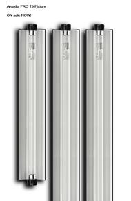 "Arcadia PRO t5 Fixture    6% Bulb 22.5""  SALE"