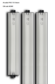 "Arcadia PRO t5 Fixture    14% Bulb 46""  SALE"