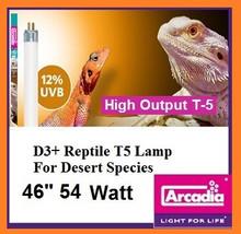 Arcadia D3+ T-5 46 Inch 54 Watt *12% Desert UVB*