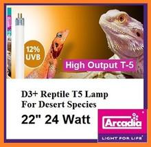 Arcadia D3+ T-5 22 Inch 24 Watt *12% Desert UVB*