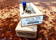 Fusion Nickel 9mm Blue Coat (115gr)
