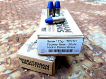 Fusion Nickel 9mm Blue Coat (125gr)