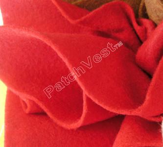 10 Pack Red Felt Sheets