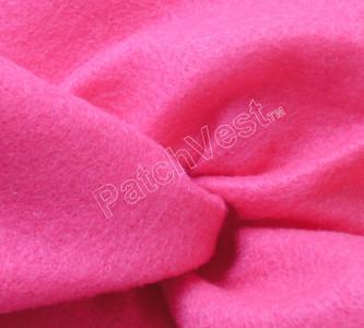 10 Pack Shocking Pink Felt Sheets