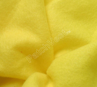 10 Pack Yellow Felt Sheets
