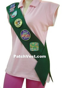 Felt Patch Sash
