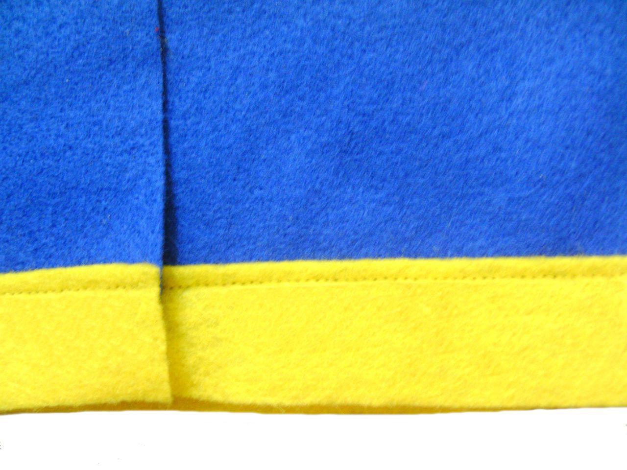 Made in USA FELT Blue Ash Ketchum Trainer Vest Costume Anime Pokemon Go