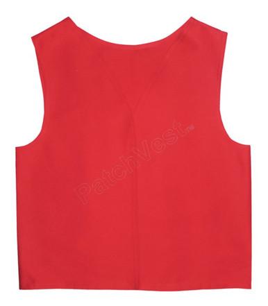 Red Twill Vest