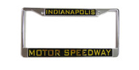 Indianapolis Motor Speedway Plastic License Plate Frame
