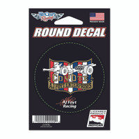 A.J. Foyt Racing COYOTE Round Decal